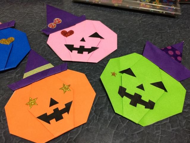 ハート 折り紙:ハロウィーン折り紙折り方-news-fukabori.com